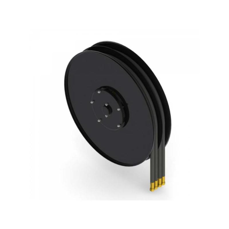 """Demac A4.12 - 2 tuyaux doubles avec diamètre intérieur 1/2"""" - 12.7mm"""