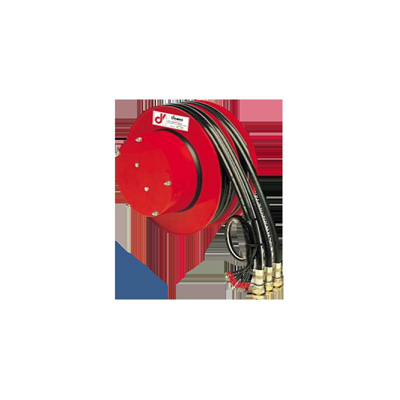 Demac A3/E enrouleur de tuyaux et câble – 3 Durits + Câble