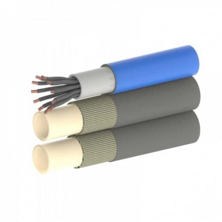 Série TU2+E - Tuyaux Jumelés avec Câble électrique additionnel