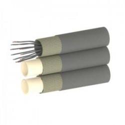 Demac TU3/E IN tuyaux triples avec insertion d'un câble électrique dans le 3ème tuyau vue 3D
