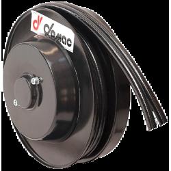 Demac AG standard enrouleur 2 tuyaux jumelés