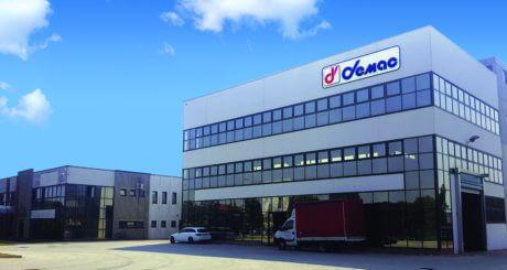 Photo du siège et de l'usine Demac où sont fabriqué les enrouleurs Demac